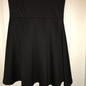 Poof Couture Dresses - Black skater skirt dress size small